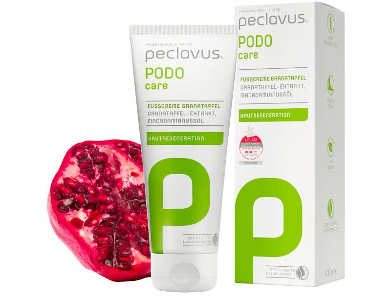 Fußpflegeprodukten der Firma Ruck/Peclavus